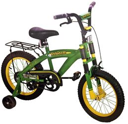 Tomy 35016 Heavy Duty Bicycle With Heavy-Duty Frame, 16 in, 4 Years And Up, Steel, Green