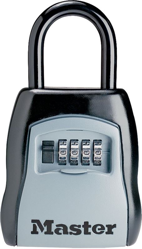 Master Lock 5400D Select Access Key Storage Security Lock, 13/32 in Dia, 1-13/32 in H x 1-7/8 in W