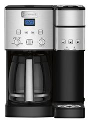 Cuisinart Coffee Center 12 cup Black/Silver Coffee Maker