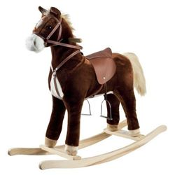 Santas Forest Rocking Horse, 42 in H 2 Pack
