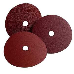 3M 01738 C, General-Purpose Fiber Disc, 120-Grit, Fine Grade, Aluminum Oxide, 7/8 in Arbor, 7 in Dia 25 Pack