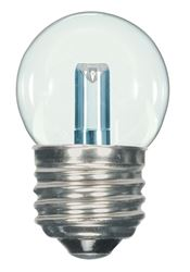 1.2W LED S11 Night Light Bulb - Medium Base - Clear - 2700K - 120V