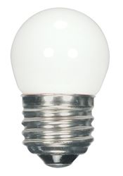 1.2W LED S11 Night Light Bulb - Medium Base - White - 2700K - 120V