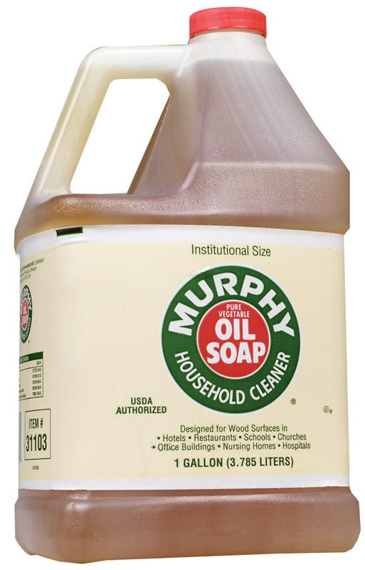 Murphy  Oil Soap  All Purpose Cleaner  1 gal. Liquid  For Wood