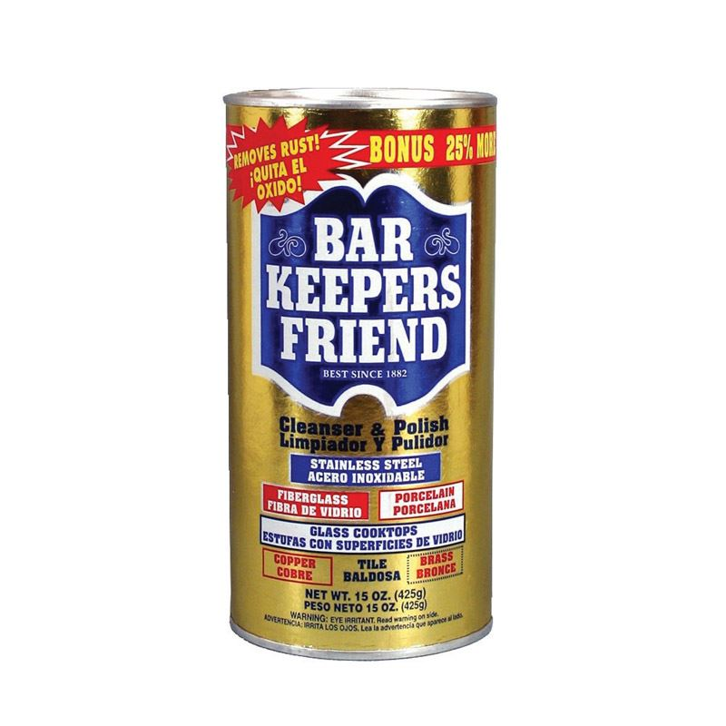 Bar Keepers Friend  15 oz. Stainless Steel Cleaner & Polish
