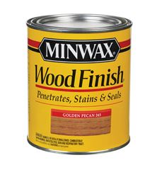 Minwax  Wood Finish  Transparent  Oil-Based  Wood Stain  Golden Pecan  1 qt.