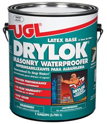 Drylok  Low Sheen  Waterproofer  White  1 gal. Low VOC