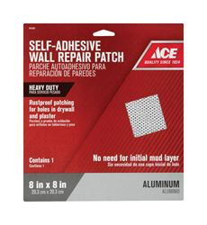 Ace 0.67 ft. L x 8 in. W White Self Adhesive Wall Repair Patch Reinforced Aluminum