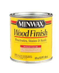 Minwax  Wood Finish  Transparent  Oil-Based  Wood Finish  Pickled Oak  1/2 pt.