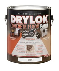 Drylok  Low Sheen  Floor Paint  White  1 gal. Low VOC