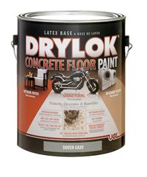 Drylok  Low Sheen  Floor Paint  Dover Gray  1 gal. Low VOC