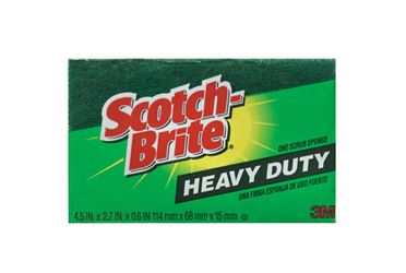 3M  Scotch-Brite  For Kitchen Scrub Sponge  2.7 in. W x 4.5 in. L