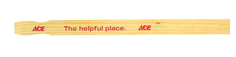 Ace  Paint Paddles  21 in. L x 1-3/8 in. W Birch