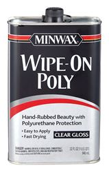 Minwax  Indoor  Clear  Gloss  Wipe On Polyurethane  1 qt.