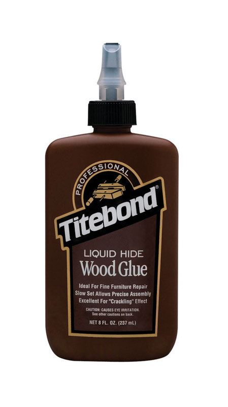 Titebond  Liquid Hide  Wood Glue  8 oz.