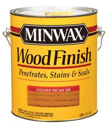 Minwax  Wood Finish  Transparent  Oil-Based  Wood Stain  Golden Pecan  1 gal.