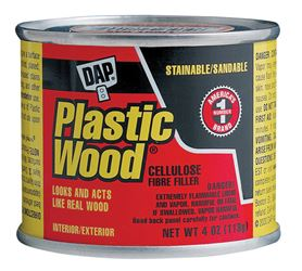 DAP  Plastic Wood  Natural  Wood Filler  4 oz.