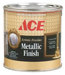 Ace Indoor Metallic Gold Plate Interior Craft Paint 1/2 pt.