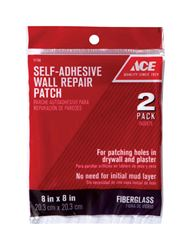 Ace 0.67 ft. L x 8 in. W Fiberglass Mesh White Self Adhesive Wall Repair Patch
