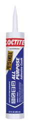 Loctite  Adhesive Caulk  Almond  10 oz.