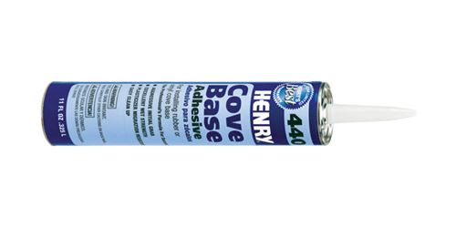 Henry  Cove Base Adhesives  11 oz.