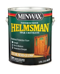 Minwax  Helmsman  Indoor and Outdoor  Clear  Semi-Gloss  Spar Urethane  1 gal.