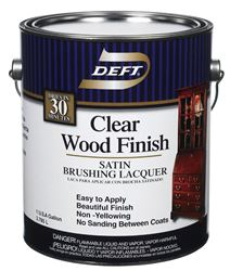 Deft  Brushing Lacquer  Satin  1 gal.