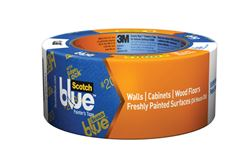 Scotch  1.88 in. W x 60 yd. L Delicate Surface  Painter's Tape  Low to Medium Strength  Blue  1 pk