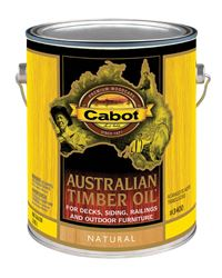 Cabot Transparent Neutral Oil-Based Penetrating Oil Australian Timber Oil 1 gal.