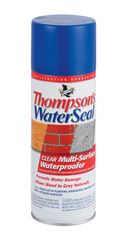 Thompsons Waterseal  Water-Based  Multi-Surface Waterproofer  Clear  12 oz.