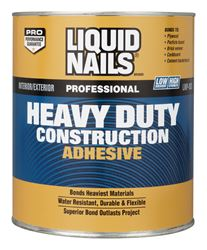 Liquid Nails  Heavy Duty  Construction Adhesive  1 qt.