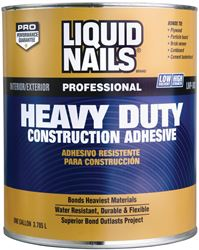 Liquid Nails  Heavy Duty  Construction Adhesive  1 gal.