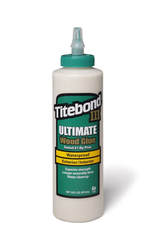 Titebond  III Ultimate Waterproof  Wood Glue  16 oz.