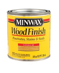 Minwax  Wood Finish  Transparent  Oil-Based  Wood Stain  Natural  1/2 pt.