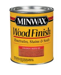 Minwax  Wood Finish  Transparent  Oil-Based  Wood Stain  Colonial Maple  1 qt.