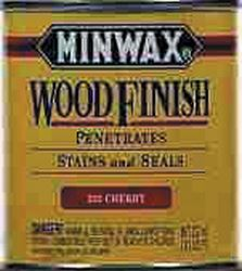 Minwax  Wood Finish  Transparent  Oil-Based  Wood Stain  Cherry  1/2 pt.