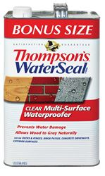 Thompsons Waterseal Smooth Clear Solvent-Based Multi-Surface Waterproofer 1.2 gal.