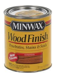 Minwax  Transparent  Oil-Based  Wood Finish  Gunstock  1 qt.