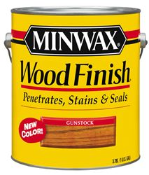 Minwax  Wood Finish  Transparent  Oil-Based  Wood Stain  Gunstock  1 gal.