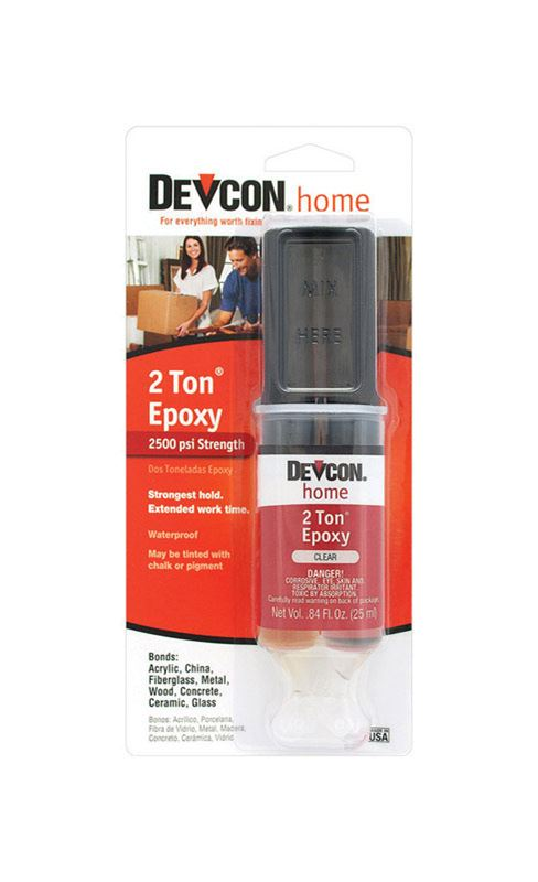 Devcon Home  2 Ton  Epoxy  .84 oz.