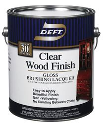 Deft  Brushing Lacquer  Gloss  1 gal.