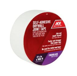 Ace  Drywall Joint Tape  Fiberglass Mesh  Self Adhesive 2-1/2 in. W x 300 ft. L