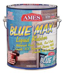 Ames  Blue Max  Interior/Exterior  Latex  Liquid Rubber  Translucent Blue  1 gal.