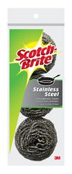 3M  Scotch-Brite  For Pots and Pans Stainless Steel Scrubbing Pads  3 pk