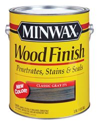 Minwax  Wood Finish  Transparent  Oil-Based  Wood Stain  Classic Gray  1 gal.