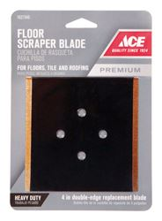 Ace  4 in. W Floor Scraper  Steel  Scraper Blade