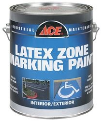 Ace  Interior/Exterior  Latex  Traffic Marking Paint  Handicapped Blue  1 gal.