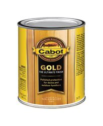 Cabot  Gp;d  Transparent  Deck Varnish  Sun-Drenched Oak  1 qt.