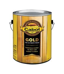 Cabot  Gold  Transparent  Deck Varnish  Sun-Drenched Oak  1 gal.