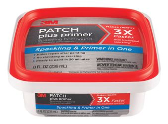 3M Patch Plus Primer Ready to Use White Spackling Compound 8 oz.